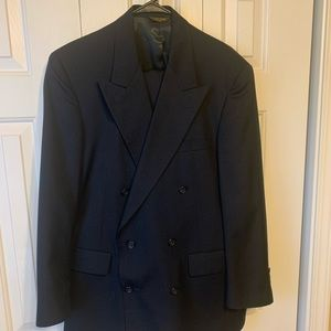 Gant Double Breasted Suit Size 36
